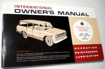 Picture of IH Owners/Operators Manual, 1969 Travelall