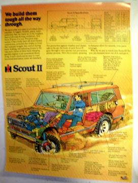 Picture of Scout II cutaway color poster